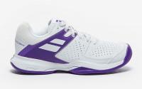 Damskie buty tenisowe Babolat Pulsion All Court W Wimbledon - white/purple