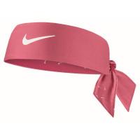Bandana tenisowa Nike Dri-Fit Head Tie 4.0 - archaeo pink/white/white