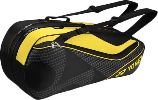 Yonex Racquet Bag 6 Pack - black/acid yellow