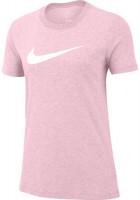 Damski T-shirt Nike Dry Tee DFC Crew W - pink foam/pink