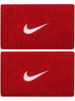 Riešo apvijos Nike Swoosh Double-Wide Wristbands - varsity red/black