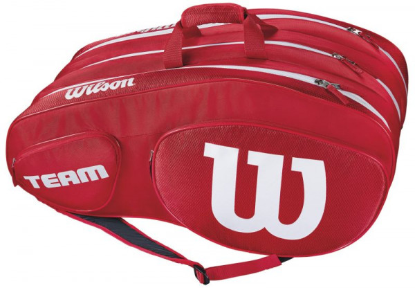 Wilson Team III 12 Pack Bag - red/white