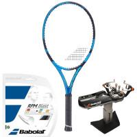 Rakieta tenisowa Babolat Pure Drive 110 2021 - blue + naciąg + usługa serwisowa