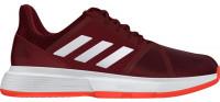 Teniso batai vyrams Adidas CourtJam Bounce M Clay - collegiate burgundy/white/active orange
