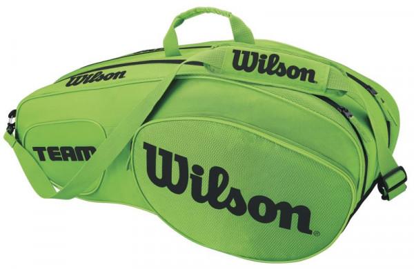 Wilson Team III 6 Pack Bag - green/black