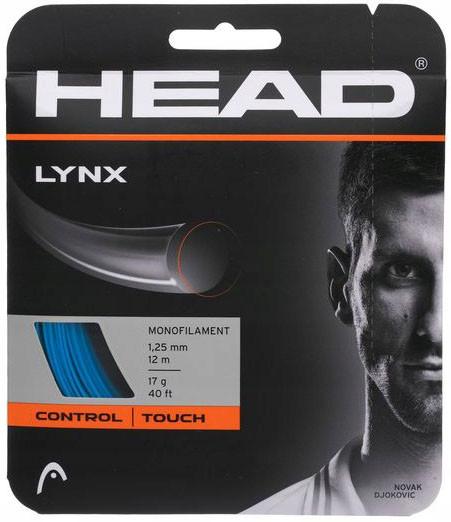Teniso stygos Head LYNX 1,25 mm (12 m) - yellow (Rekomenduojame)