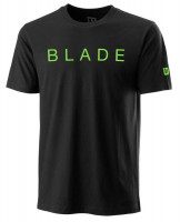 Męski T-Shirt Wilson Blade Franchise Tech Tee - black