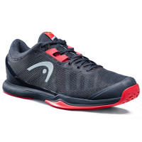 Teniso batai vyrams Head Sprint Pro 3.0 Men - midnight navy/neon red