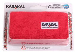 Riešo apvijos Karakal Logo Jumbo Wristbands - red