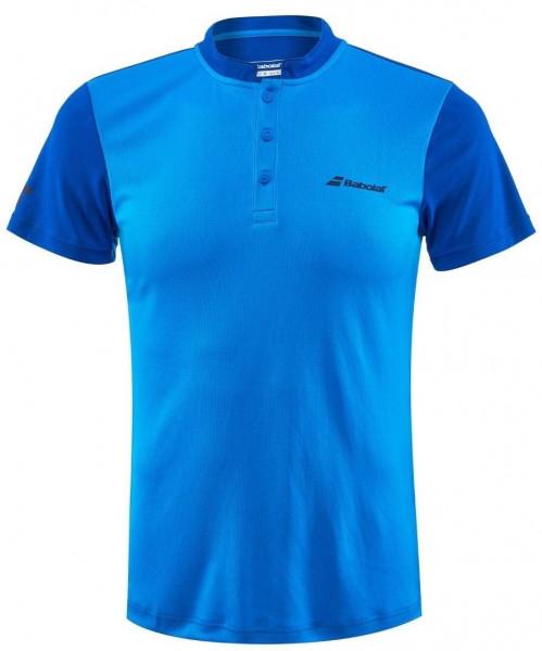 Męskie polo tenisowe Babolat Play Polo Men - blue aster