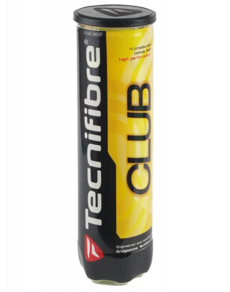 Teniso kamuoliukai Tecnifibre Club 4B