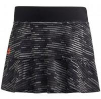 Damska spódniczka tenisowa Adidas Primeblue Skirt W - black/true orange