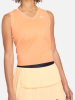 Damski top tenisowy Nike Court Dri-Fit Victory Tank W - peach cream/white