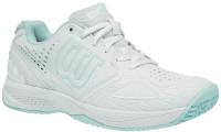 Damskie buty tenisowe Wilson Kaos Comp 2.0 W - white/illusion blue/island paradise