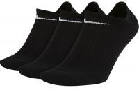 Skarpety tenisowe Nike Everyday Cotton Lightweight No Show - 3 pary/black/white