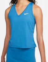 Damski top tenisowy Nike Court Dri-Fit Victory Tank W - brigade blue/white