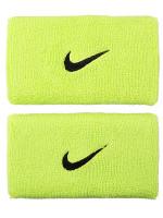 Nike Swoosh Double-Wide Wristbands - atomic green/black