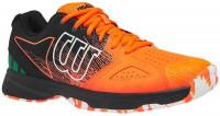 Męskie buty tenisowe Wilson Kaos Devo Paris - shocking orange/black/amazon