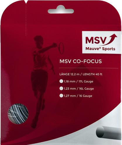 Tenisa stīgas MSV Co. Focus (12 m) - silver