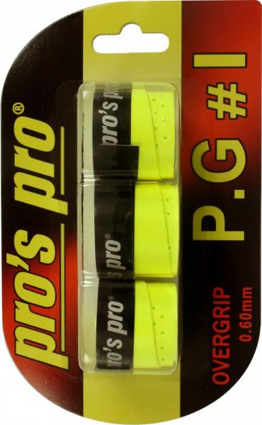 Liimlindid ülemähkimiseks Pro's Pro P.G. 1 3P - yellow
