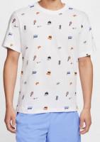 Męski T-Shirt Nike Court Tee Roland Garros - white