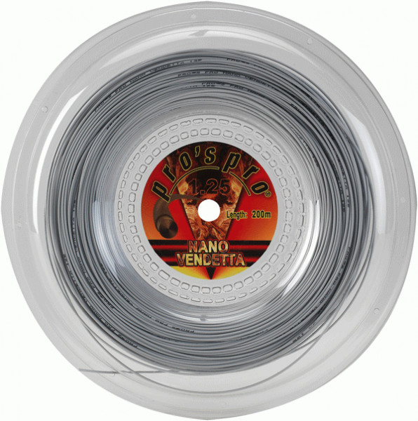 Tennisekeeled Pro's Pro Nano Vendetta (200 m) - white