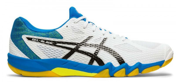 Buty do squasha Asics Gel-Blade 7 - white/black