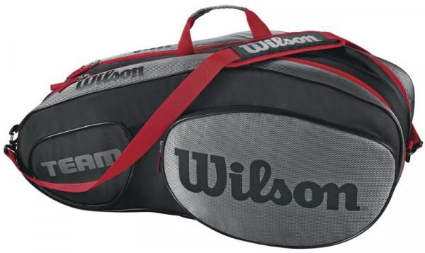 Wilson Team III 6 Pack Bag - black/grey