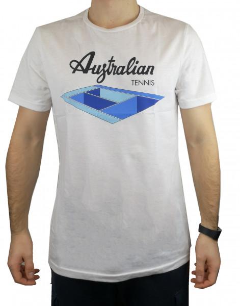Teniso marškinėliai vyrams Australian Jersey T-Shirt with Print - bianco/altro colore