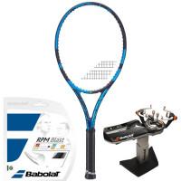 Rakieta tenisowa Babolat Pure Drive Tour 2021 - blue + naciąg + usługa serwisowa