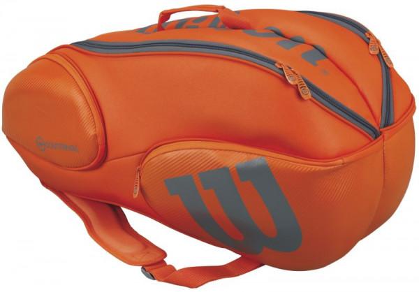 Wilson Vancouver Burn Countervail 9 Pk Bag - orange/grey