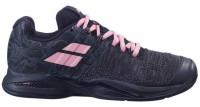 Damskie buty tenisowe Babolat Propulse Blast Clay Women - black/geranium pink