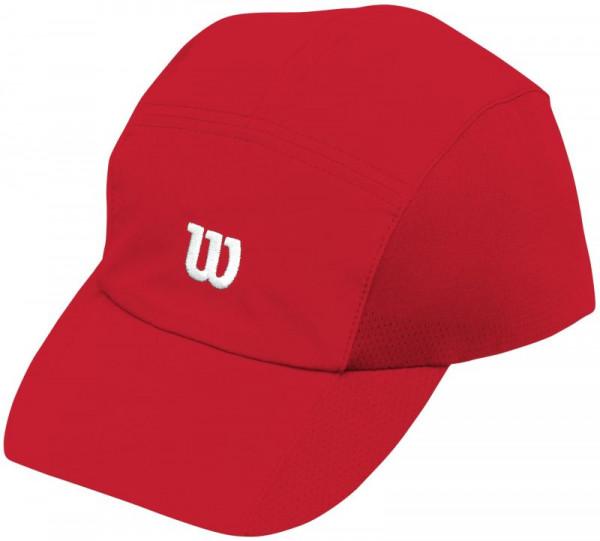 Wilson Rush Stretch Woven Cap - wilson red