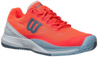 Damskie buty tenisowe Wilson Rush Pro 3.0 W - fiery coral/white/cashmere blue