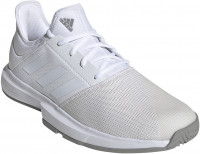 Męskie buty tenisowe Adidas GameCourt M - cloud white/cloud white/dove grey