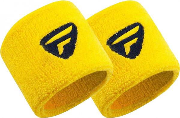 Tecnifibre Wristband New (2 szt.) - yellow