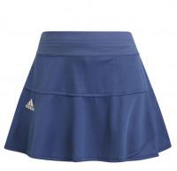 Damska spódniczka tenisowa Adidas Heat Ready Primeblue Match Skort W - crew blue/aluminium