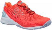 Damskie buty tenisowe Wilson Kaos 2.0 Clay Court W - fiery coral/white/blue curacao