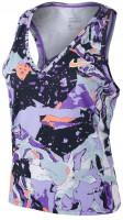 Marškinėliai moterims Nike Court Victory Tank Print W - wild berry/bright mango