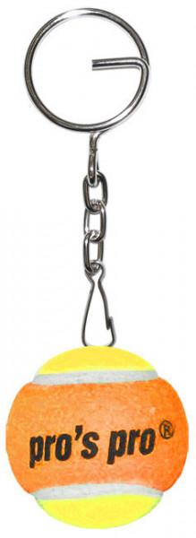 Breloczek Pro's Pro Tennis Ball - yellow/orange