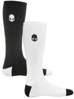 Skarpety tenisowe Hydrogen Tennis Socks - 2 pary/white/black