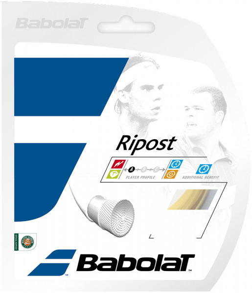 Tenisa stīgas Babolat Ripost (12 m)