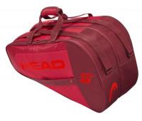 Torba do padla Head Core Padel Combi - red/red