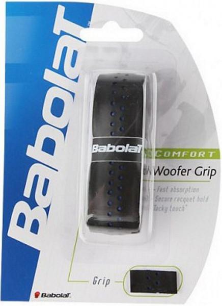 Owijki tenisowe bazowe Babolat Woofer Grip - black/blue