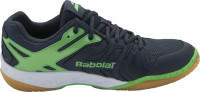 Buty do squasha Babolat Shadow Team M - anthracite/fuo green